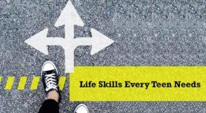 مهارت های ضروری برای نوجوان